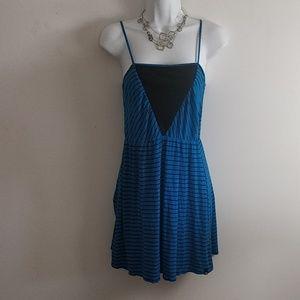 Volcom Blue Black Dress